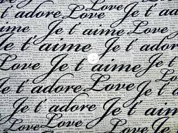 french word for bedroom french and english love words fabric by the yard yards