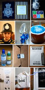 a cops u0027n robbers party babyccino kids daily tips children u0027s