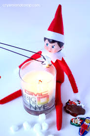 elf on the shelf idea smores