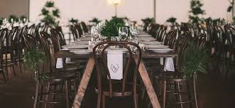 banquet tables and chairs tables chairs byron bay wedding party hire