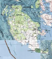 san juan map san juan island kayaking map go northwest a travel guide