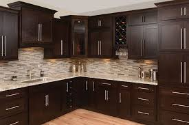 what backsplash goes with brown cabinets 43 kitchen backsplash decor ideas with cabinets
