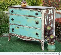 get a shabby chic feel with 15 distressed wooden dressers home