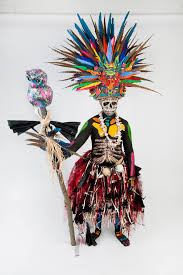 body painting halloween costumes my aztec god of the underworld where i created the entire costume
