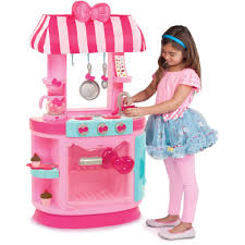 Hello Kitty Bedroom In A Box Hello Kitty Kitchen Cafe Walmart Com