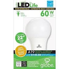 led for non dimmable light bulb 60 watt equivalent 1 dollar