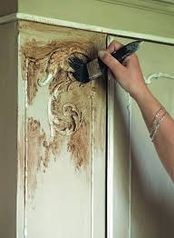 How To Paint Cabinets To Look Distressed How To Use Chalk Paint Step By Step Instructions When To Use