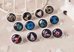 exo earrings cabochon stud earrings brass earring stud exo earrings design 12mm