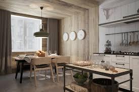 d馗oration int駻ieure cuisine décoration intérieure comment décorer avec du lambris mural