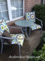 Cheapest Outdoor Furniture by Redo Patio Sling Chairs For Under 25 Hometalk
