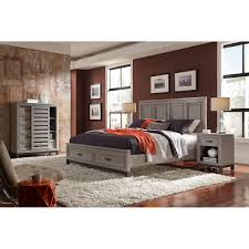 Bedroom Storage Norah 4 Piece Cal King Storage Bedroom Set
