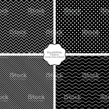 simple black and white seamless patterns stock vector art