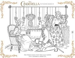 free printable cinderella coloring pages fancy shanty