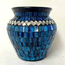 Mosiac Vase Vases Mosaics Terracotta