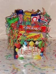 snack basket delivery s snack basket with plush 55 balloonsandmoregifts