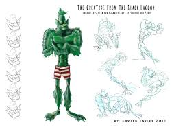the creature from the black lagoon character sheet u2013 edwardian taylor