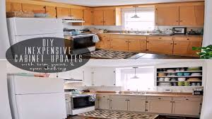 diy ideas painting kitchen cabinets youtube