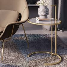 Small Accent Table Ls Eileen Grey Side Table Brass