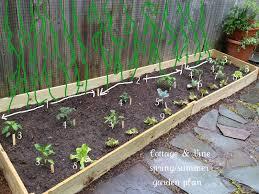 cottage and vine diy raised vegetable garden