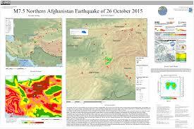 Hindu Kush Map M 7 5 45km E Of Farkhar Afghanistan