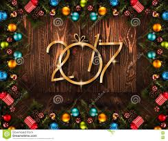 new years stuff 2017 happy new year seasonal background with christmas baubles
