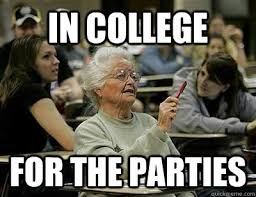 Grumpy Old Lady Meme - old lady college memes memes pics 2018