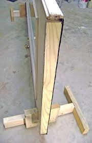 how to repair a rotted door bottom and weatherstrip