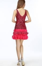 online shop v neck sequin mini short fitted tank top ruffle