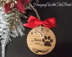 dog ornaments etsy