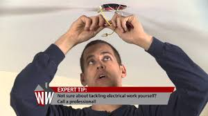 How To Make A Fake Chandelier How To Install A Chandelier Youtube