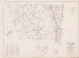 Highway Map General Highway Map Hays County Texas The Portal To Texas History