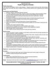 Sample Camp Counselor Resume by Youth Counselor Cover Letter