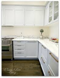 giving a builder u0027s kitchen a personal touch cabinet hardware