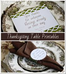thanksgiving table printable and tutorial finding home farms