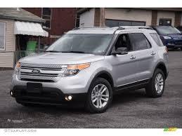 Ford Explorer Xlt 2015 - 2015 ingot silver ford explorer xlt 4wd 102644434 gtcarlot com