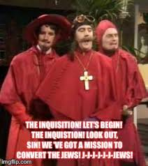 Spanish Inquisition Meme - image tagged in nobody expects the spanish inquisition monty python