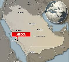 Mecca Map Mecca U0027s Grand Mosque Crane Engineer Says U0027it Was An Act Of God