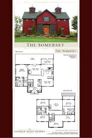 this barn home design plan features 3 941 square feet of post and