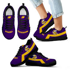 minnesota vikings home decor minnesota vikings line logo sneakers u2013 best funny store