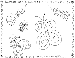 bnute productions butterfly party game and art ideas including