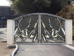 contemporary gate designs for home elegancy