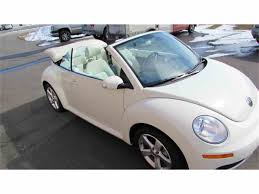 2007 volkswagen beetle for sale classiccars com cc 982183