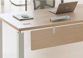 bureau bois design contemporain bureau de direction design contemporain pas cher stocké