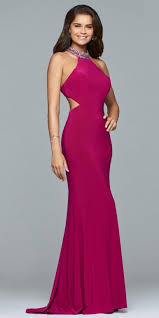 grad gowns high neck prom dresses high neckline formal dresses