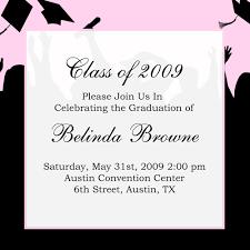 graduation invitation template graduation invitation templates exles of graduation invitations