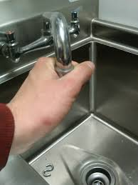 cleaning a blocked faucet aerator how to clear a faucet aerator step 6
