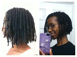 how to cut locs into a layered a line bob youtube