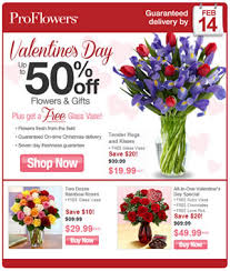 flowers coupon code proflowers special discount for valentines day 2013 reminder