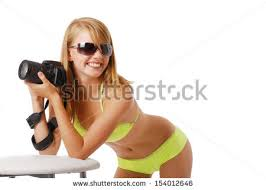 Elbows On The Table Teenage Squatting Down Looking Camera Stock Photo 153975851