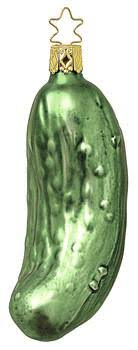 christmas pickle inge glas the christmas pickle my growing traditions